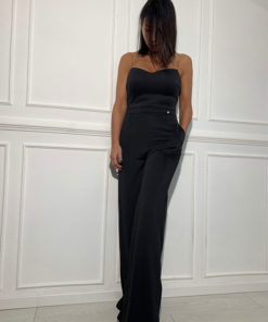 Black scuba jumpsuit