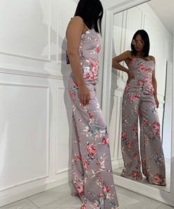 Spring strappy jumpsuit