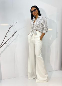 Ingrid White top i pantalone